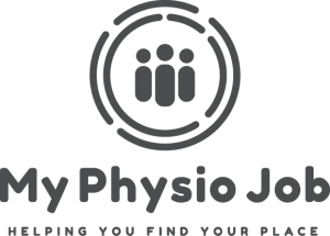 My Physio Job Logo Grey